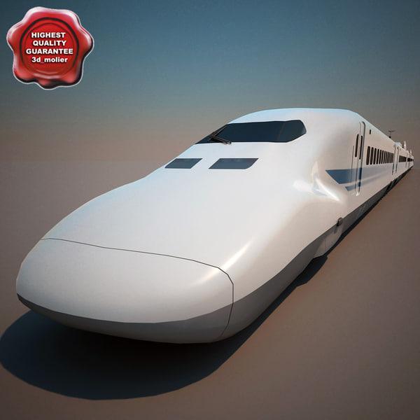 3ds high-speed train shinkansen 700