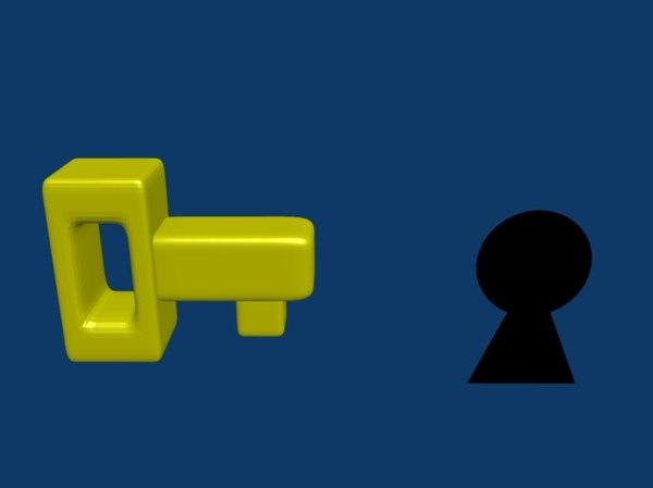 key keyhole blend free