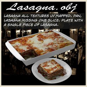 3d lasagna