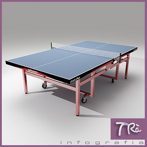 3ds max ping pong table butterfly