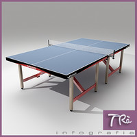 PING PONG TABLE BUTTERFLY FIXED