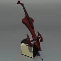Electric Cello with Amp