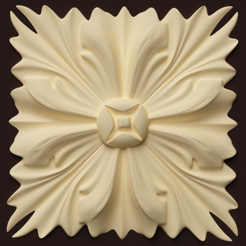 classical decoration interior wall 3d dxf