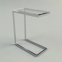 mona table materials 3d max