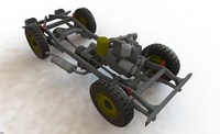 wrl willys jeep chassis