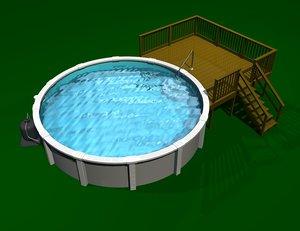 3ds ground pool