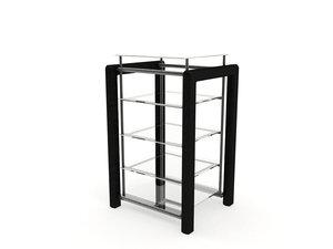 shelf materials 3d model