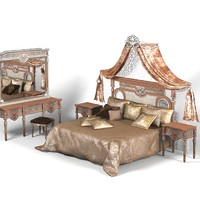 Asnaghi Classic Bedroom Set