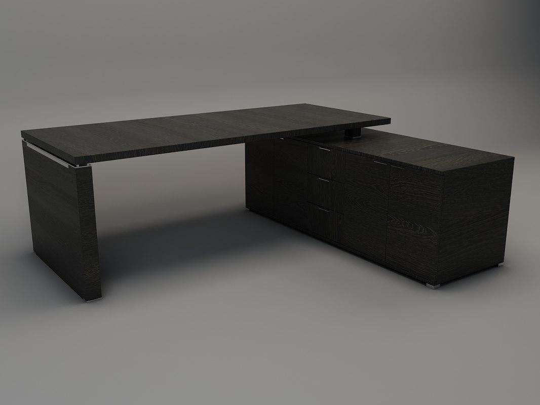 wenge desk max