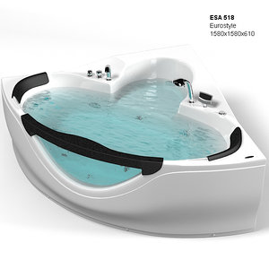 3d hydromassage bath