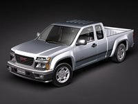 3d gmc canyon 2004 2010