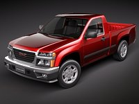3ds max gmc canyon 2004 2010