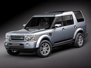 3d model of land rover discovery 4
