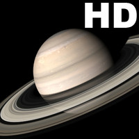 Incredible HD Saturn planet