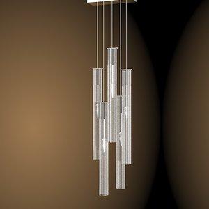 3d solzi luce modern