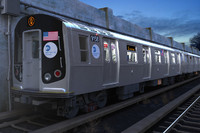 r160 train rails c4d