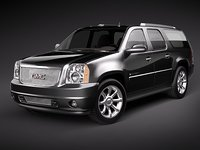 gmc yukon denali xl 3d model