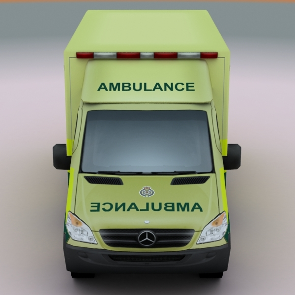 2011 mercedes uk ambulance games 3d model