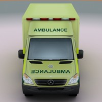 2011 Mercedes Ambulance UK