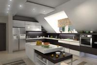 3ds max kitchen interior