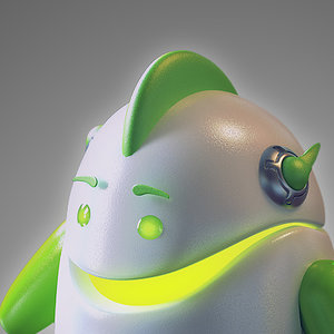 obj robot android -