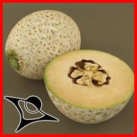3d model avocado modeled