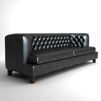 sofa hall rodolfo dordoni 3ds