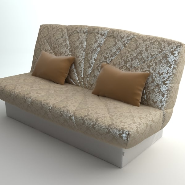 qualitative sofa interior 3d 3ds