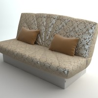 qualitative sofa interior 3d 3ds