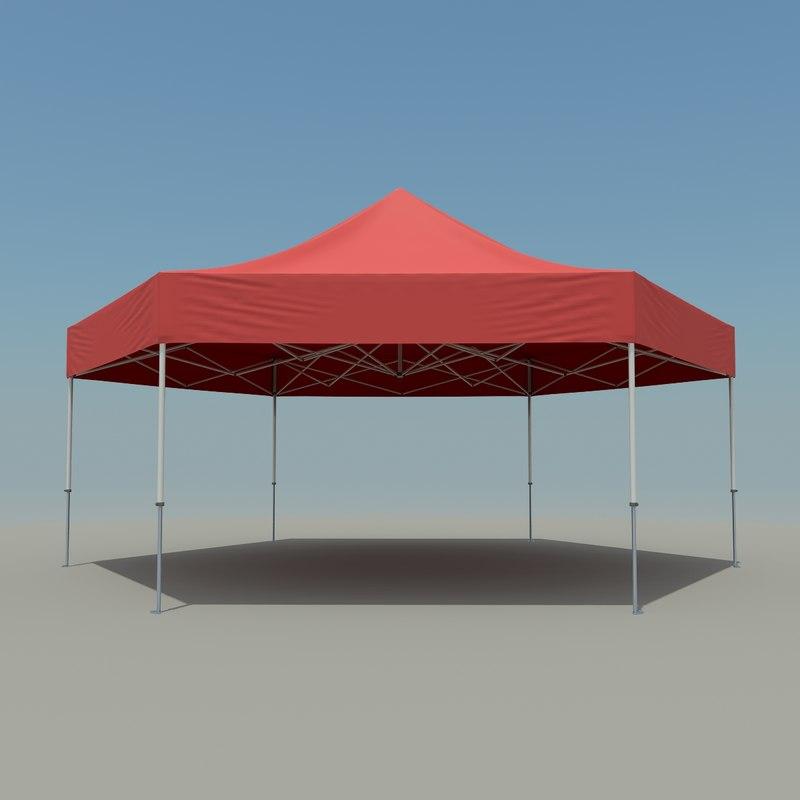 3ds workshop tent