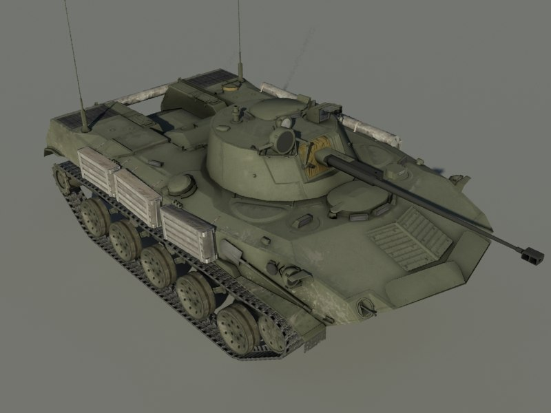 3d model bmd-2 soviet vehicle