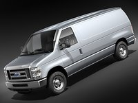ford e-series-van 2008 midpoly