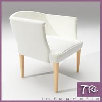 maya bedroom armchair