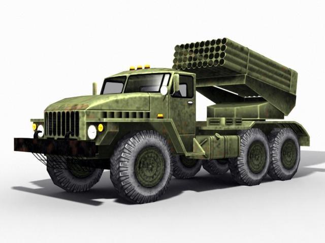 bm-21 grad 3d max