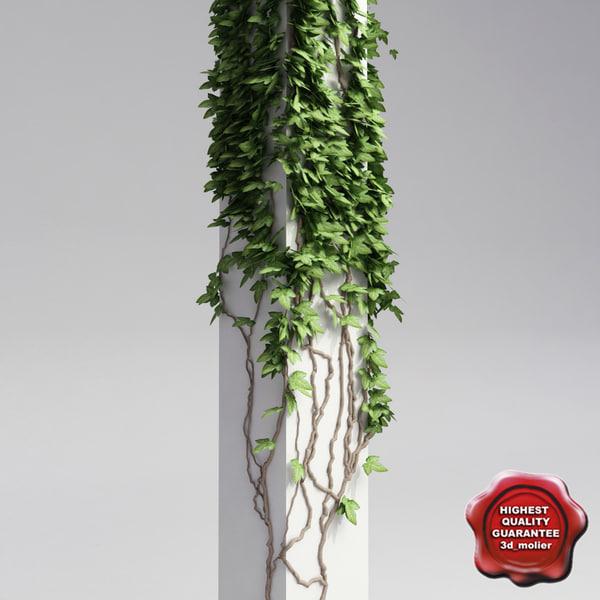 column ivy v1 3d max