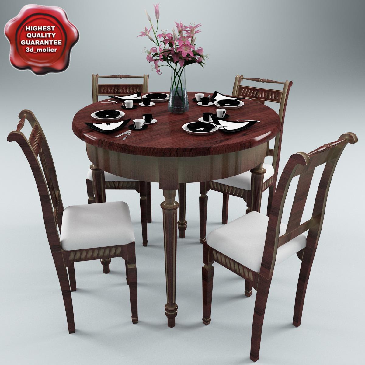 dinner table v3 c4d