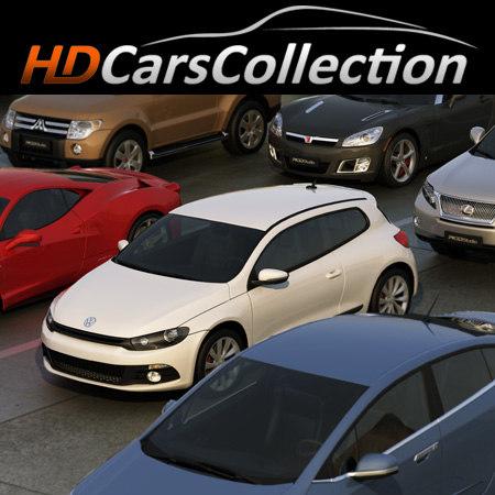 3d hdcarscollection vol 1 car