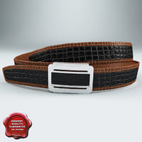leather belt v3 3d max