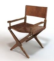 director s chair 3d model