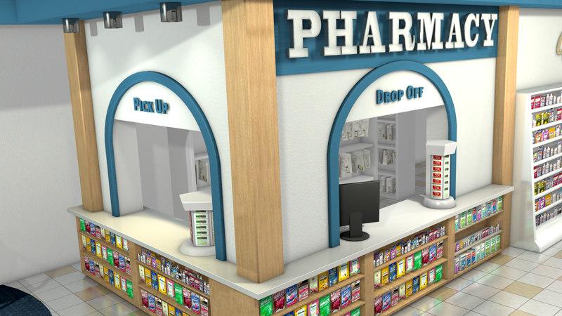 cinema4d pharmacy store