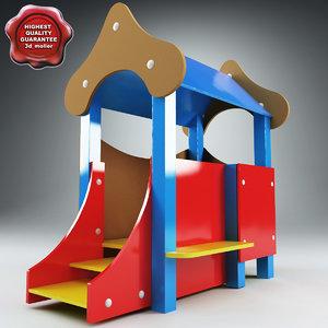 maya playhouse modelled