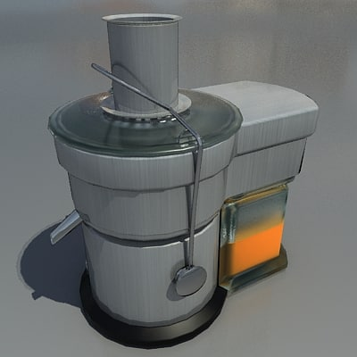 3d model juicer bar kitchen