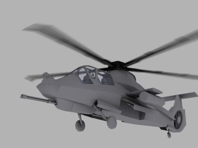 3d model rah-66 comanche games