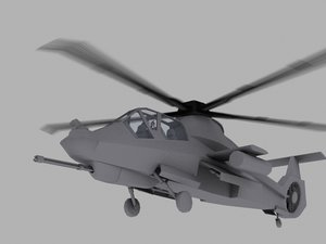 3d model rah-66 comanche games