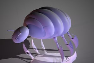 3d fantasy ant model