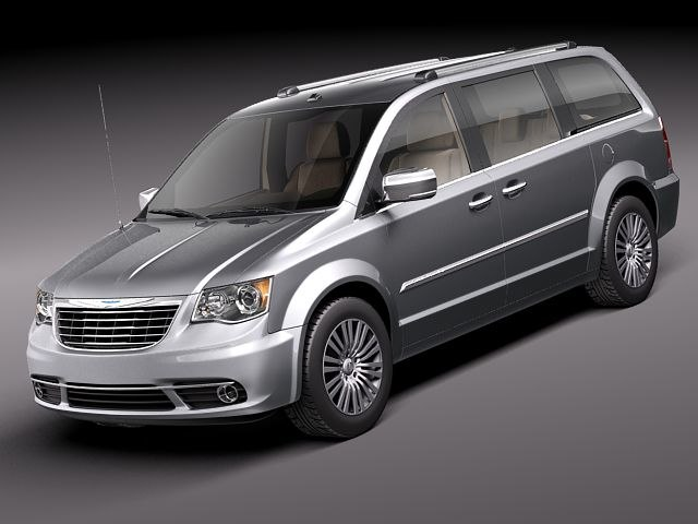 3d max chrysler town country 2011