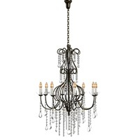 max classic crystal chandelier