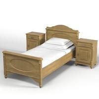3dsmax dolfi bed bedroom