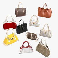Women bag luxury set