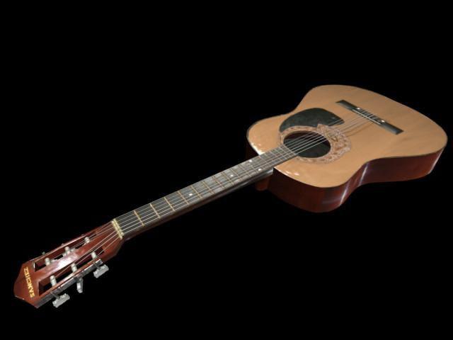 3d sanchez acoustic guitar